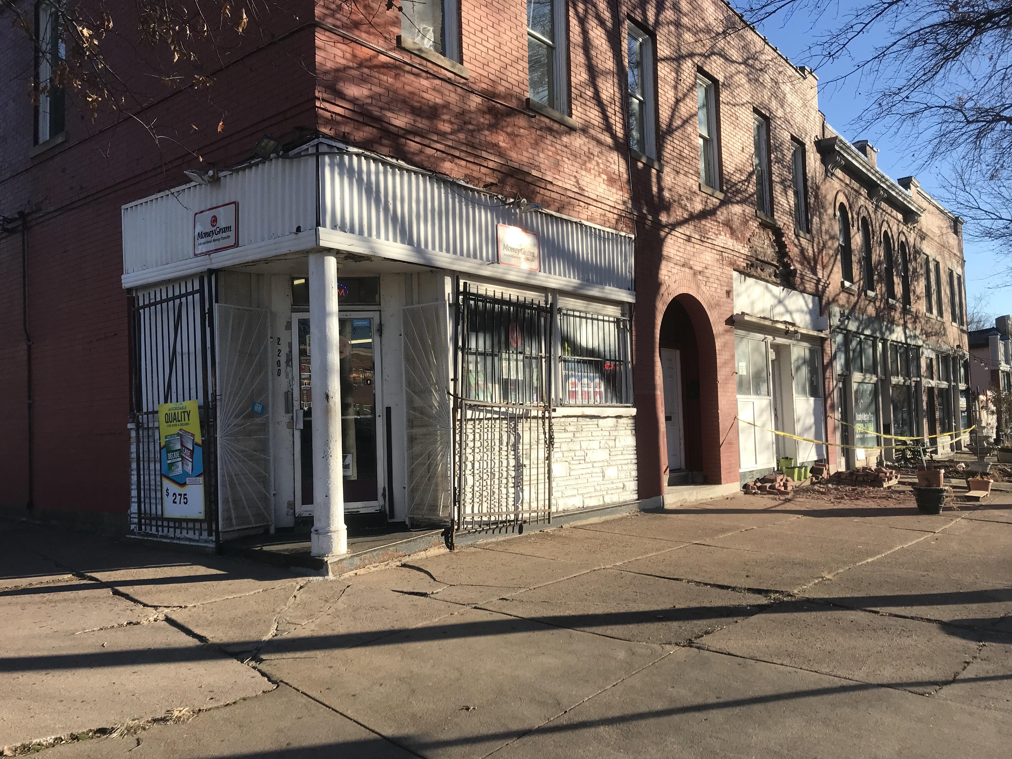 corner storefront